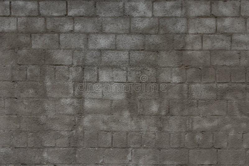 Γκρίζος με το διακοσμητικό τουβλότοιχο ασβεστοκονιάματος στοκ φωτογραφίες με δικαίωμα ελεύθερης χρήσης