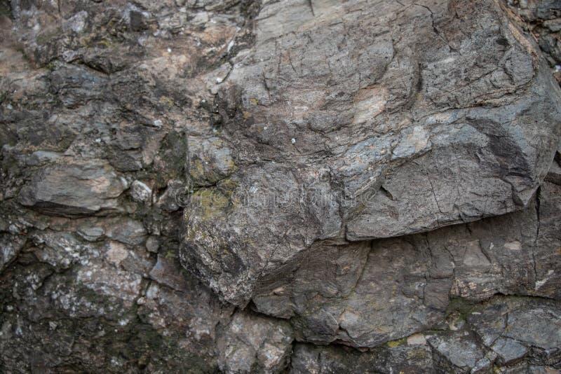 Γκρίζος πόρος σύστασης βράχων στοκ εικόνα με δικαίωμα ελεύθερης χρήσης
