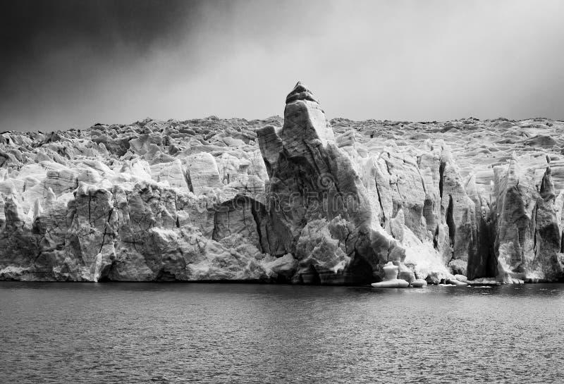 Γκρίζος στενός επάνω παγετώνων, Παταγωνία, Χιλή στοκ φωτογραφία