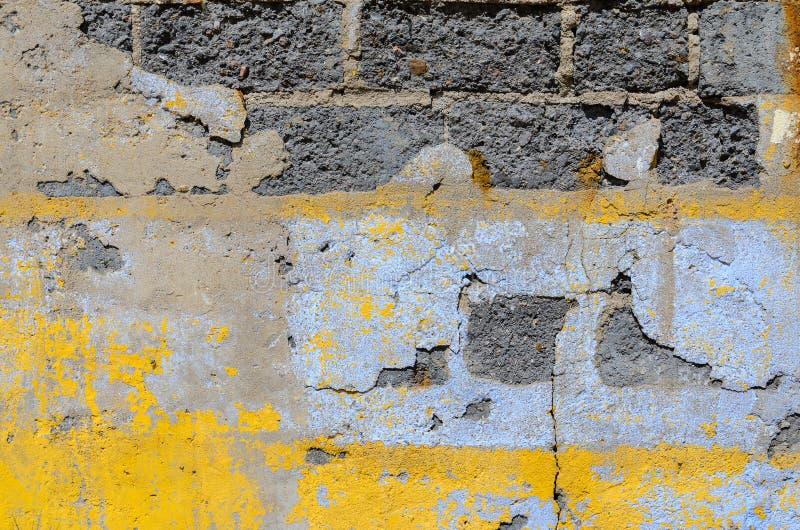 γκρίζος τοίχος σύστασης τούβλου στοκ εικόνες