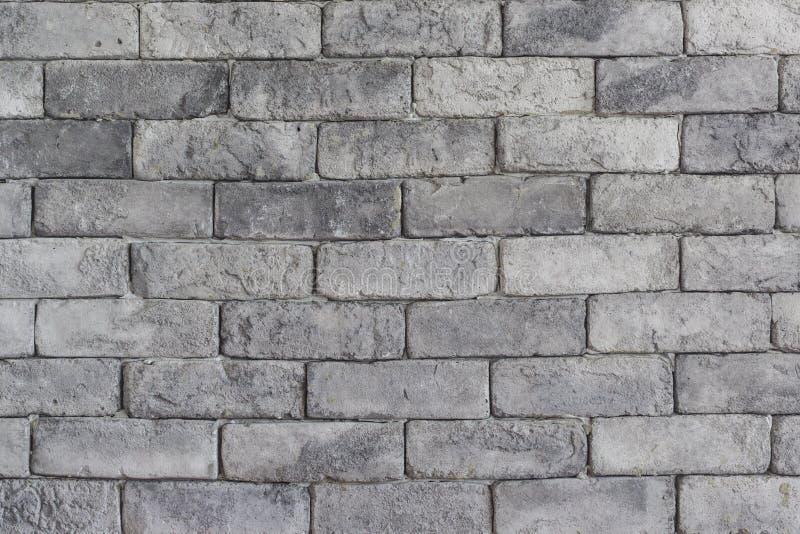 γκρίζος τοίχος σύστασης τούβλου στοκ φωτογραφία με δικαίωμα ελεύθερης χρήσης