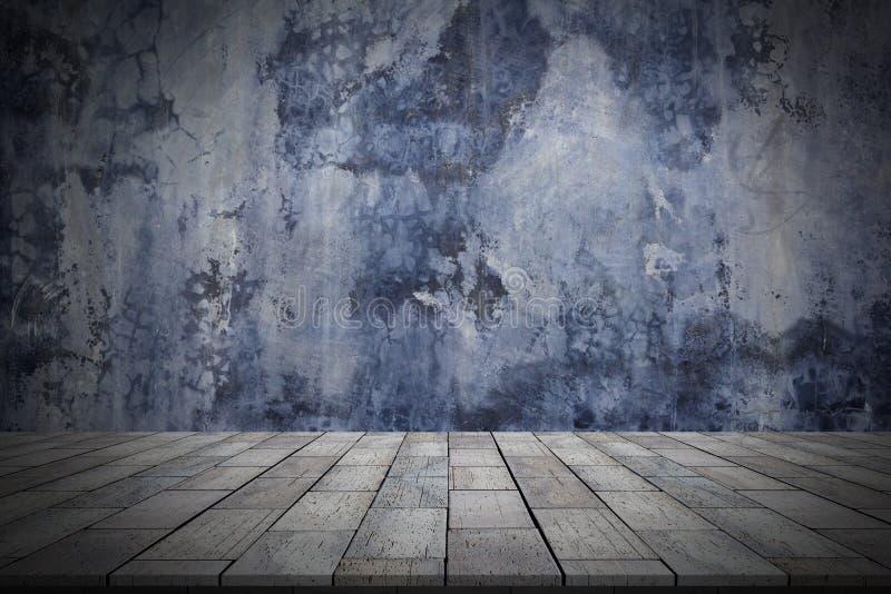 Γκρίζος το πάτωμα τοίχων και πετρών στοκ εικόνα
