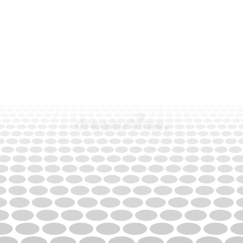 Γκρίζο άσπρο τρισδιάστατο υπόβαθρο κύκλων απεικόνιση αποθεμάτων