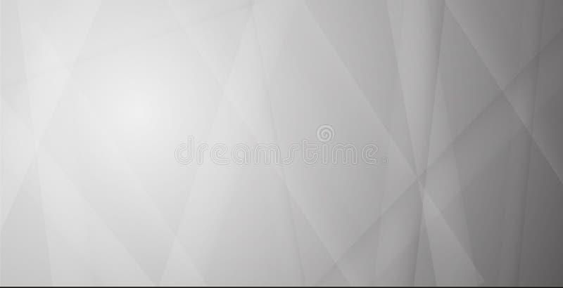 Γκρίζο και άσπρο αφηρημένο υπόβαθρο γραμμών, eps10 διανυσματική απεικόνιση