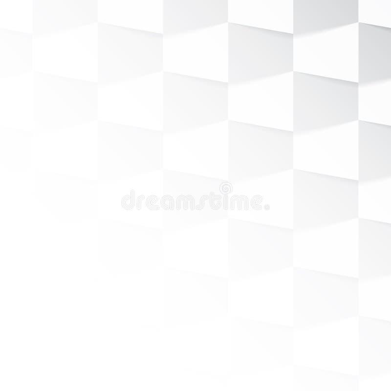 Γκρίζο και άσπρο υπόβαθρο κλίσης ελεύθερη απεικόνιση δικαιώματος