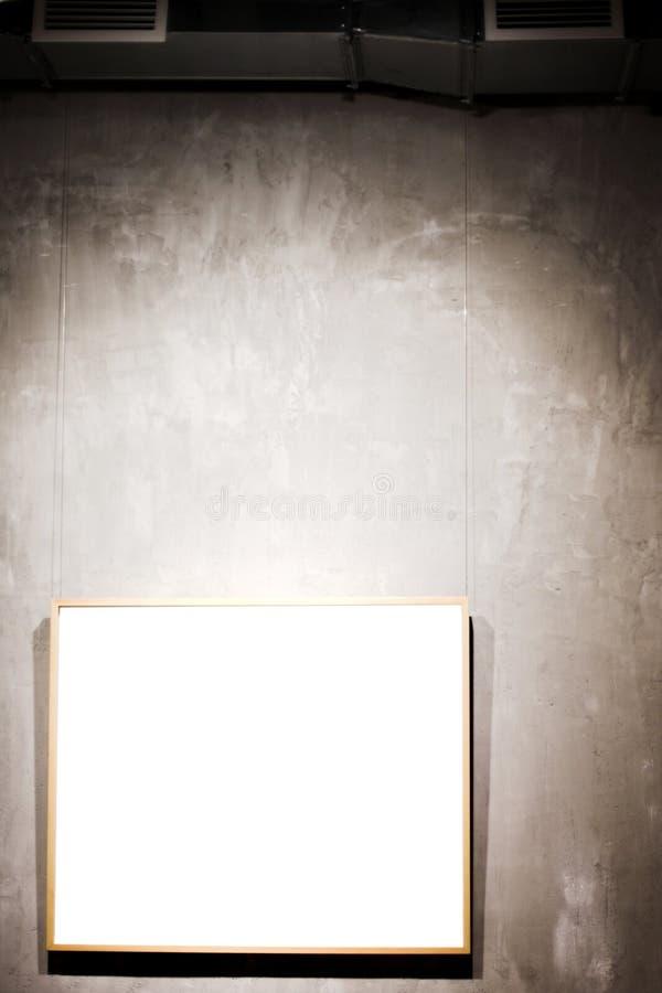 γκρίζο λευκό τοίχων πλαι&s στοκ εικόνα