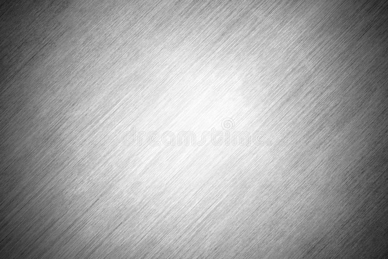 Γκρίζο μέταλλο φύλλων υποβάθρου σύστασης με τις γρατσουνιές Γυαλισμένο πιάτο χάλυβα απεικόνιση αποθεμάτων