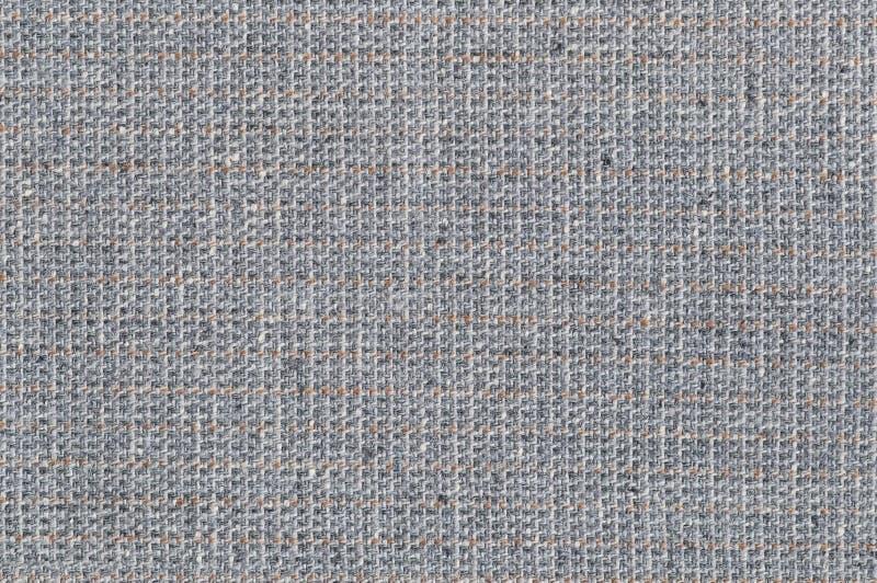 Γκρίζο μπεζ άσπρο σχέδιο σύστασης υποβάθρου υφάσματος μαλλιού παλτών κοστουμιών, μεγάλη λεπτομερής γκρίζα οριζόντια κατασκευασμέν στοκ φωτογραφία με δικαίωμα ελεύθερης χρήσης