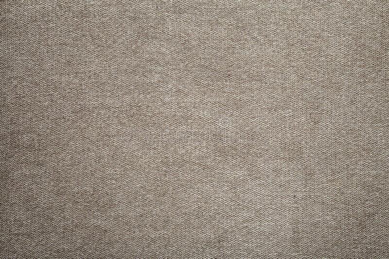 Γκρίζο μπεζ υπόβαθρο επιφάνειας καμβά λινού Sackcloth σχέδιο, οικολογικό υφαντικό, μοντέρνο υφαμένο ευκίνητο burlap βαμβακιού στοκ φωτογραφίες με δικαίωμα ελεύθερης χρήσης