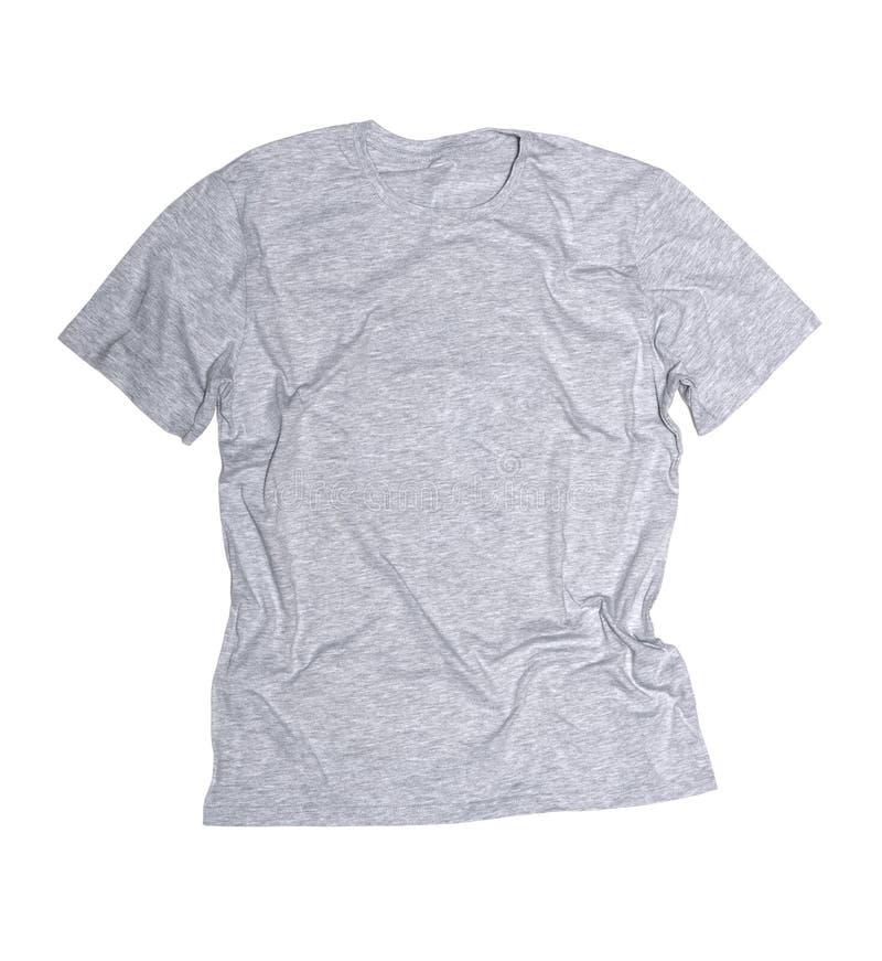 γκρίζο πουκάμισο τ στοκ φωτογραφίες