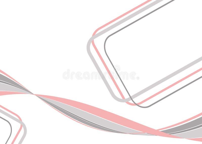 γκρίζο ροζ ανασκόπησης ελεύθερη απεικόνιση δικαιώματος