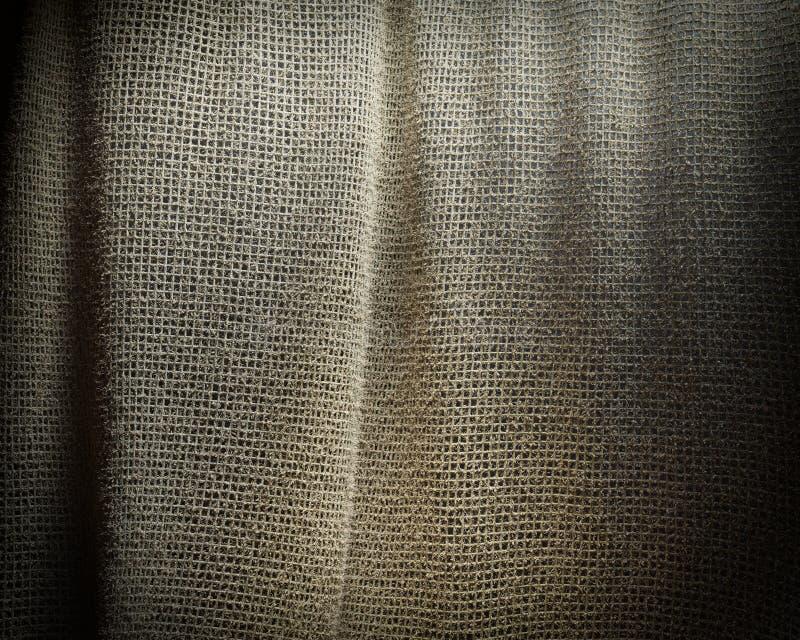 Γκρίζο sackcloth υπόβαθρο σύστασης Μαλακό υφαντικό υλικό υφάσματος στοκ εικόνες με δικαίωμα ελεύθερης χρήσης
