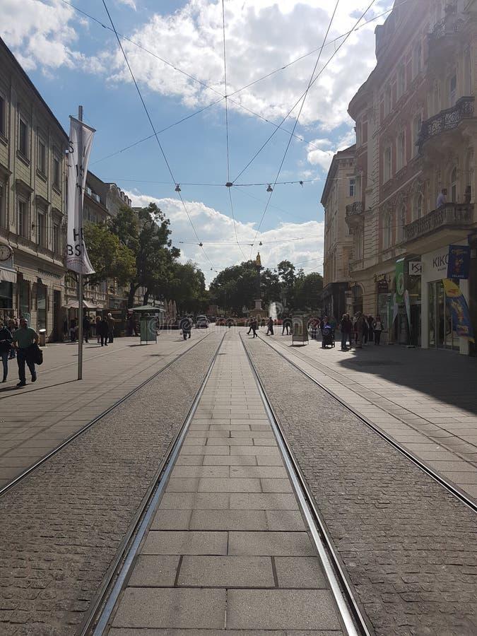 Γκραζ Hauptplatz στοκ εικόνα