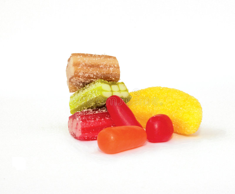 γλυκά ζελατίνης στοκ εικόνες