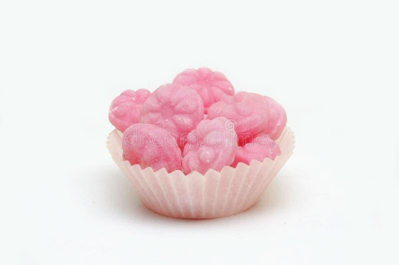 γλυκά σμέουρων καραμελώ& στοκ εικόνες
