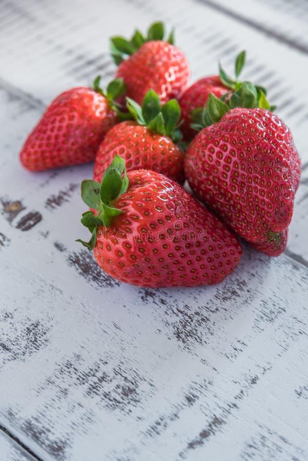 Γλυκές φράουλες στοκ φωτογραφία
