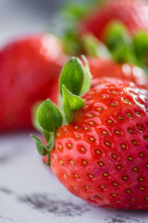 Γλυκές φράουλες στοκ φωτογραφίες