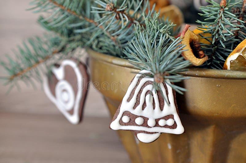 Γλυκιά καραμέλα Χριστουγέννων στοκ φωτογραφίες με δικαίωμα ελεύθερης χρήσης