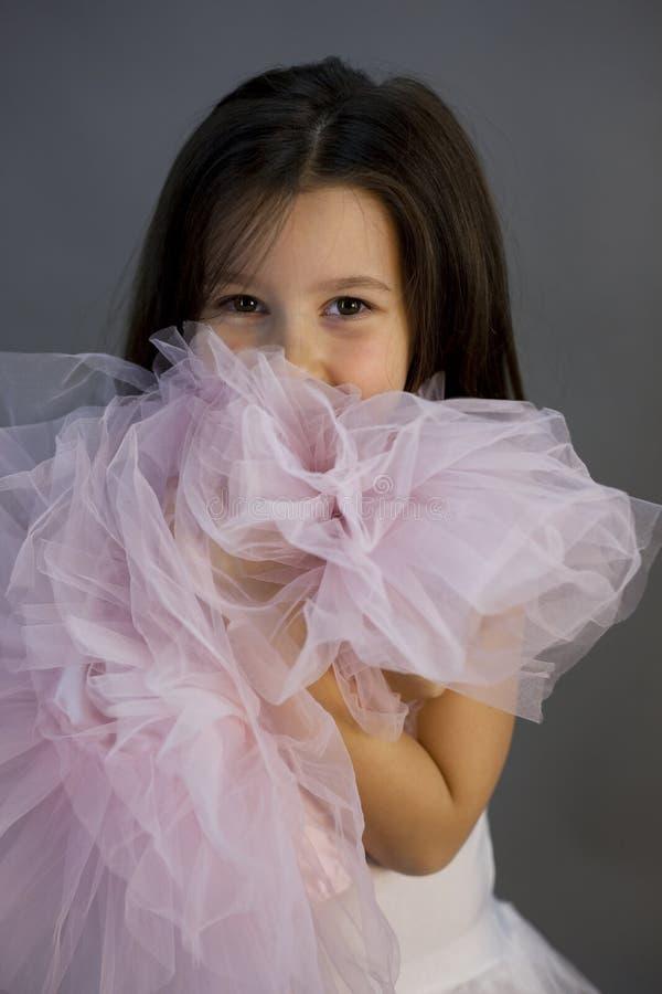 Γλυκό κορίτσι ballerina στοκ εικόνες