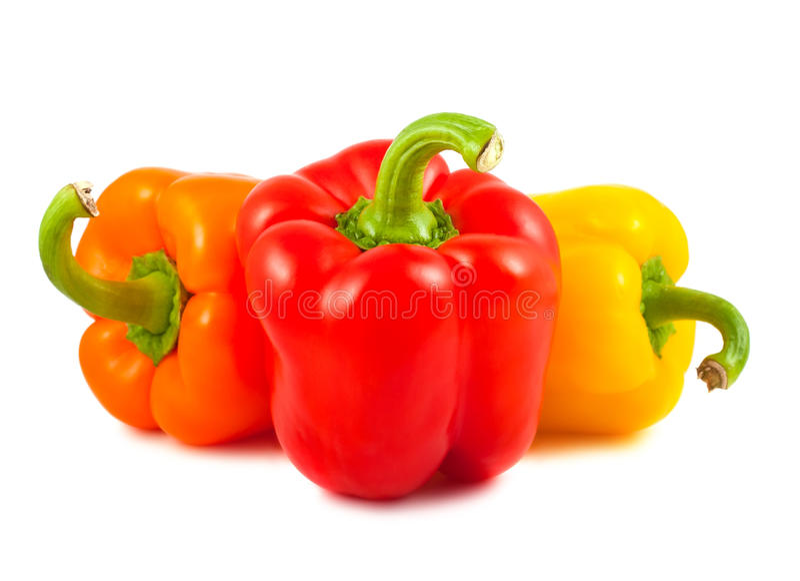 Download γλυκό τρία πιπεριών στοκ εικόνες. εικόνα από θρεπτικός - 22785878