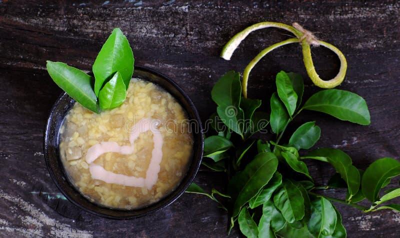 Γλυκό gruel γκρέιπφρουτ, βιετναμέζικη γλυκιά σούπα στοκ εικόνες