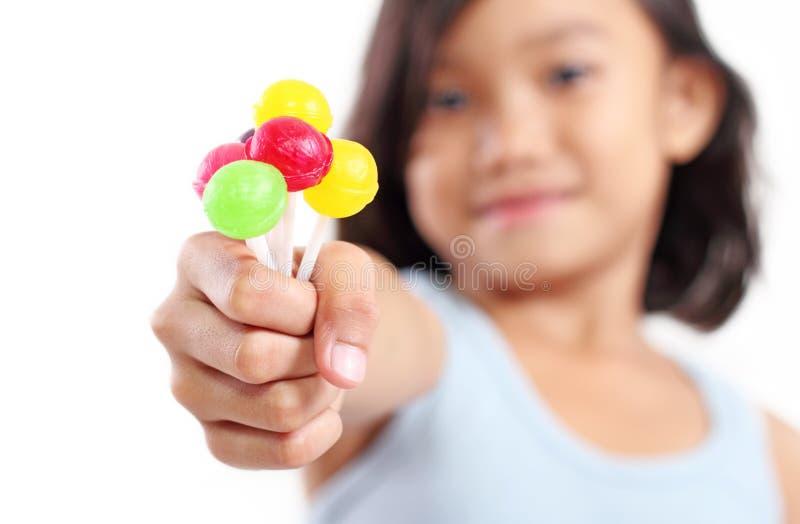 Γλυκό Lollipops στοκ φωτογραφίες με δικαίωμα ελεύθερης χρήσης
