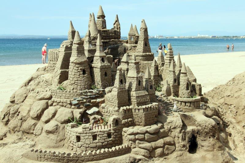 γλυπτό άμμου στοκ εικόνες