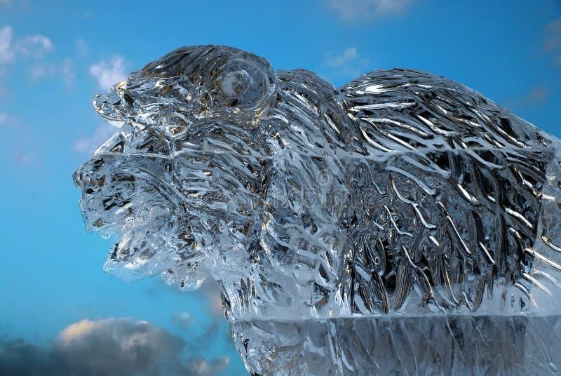 γλυπτό πάγου στοκ εικόνες