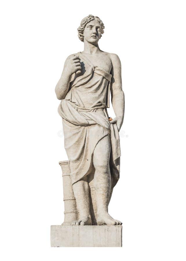 Γλυπτό του Θεού Meleagr αρχαίου Έλληνα στοκ φωτογραφίες με δικαίωμα ελεύθερης χρήσης