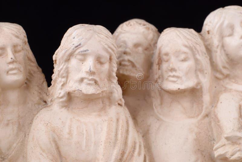 γλυπτό του Ιησού στοκ εικόνες
