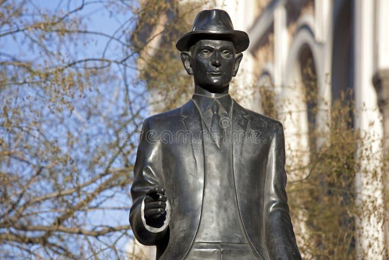 Γλυπτό του Πράγα-Franz Kafka στοκ εικόνες