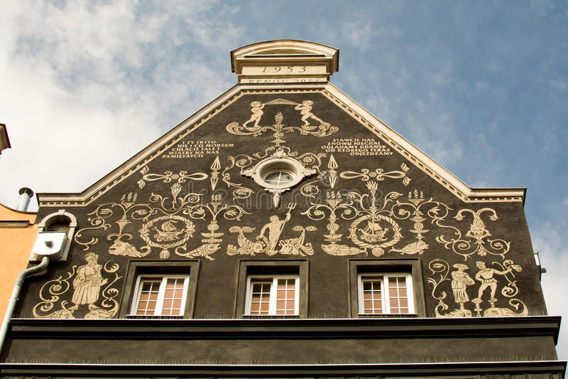 Download Γντανσκ - διακόσμηση δημαρχείων Στοκ Εικόνα - εικόνα από αρχιδούκας, πόλη: 62705587