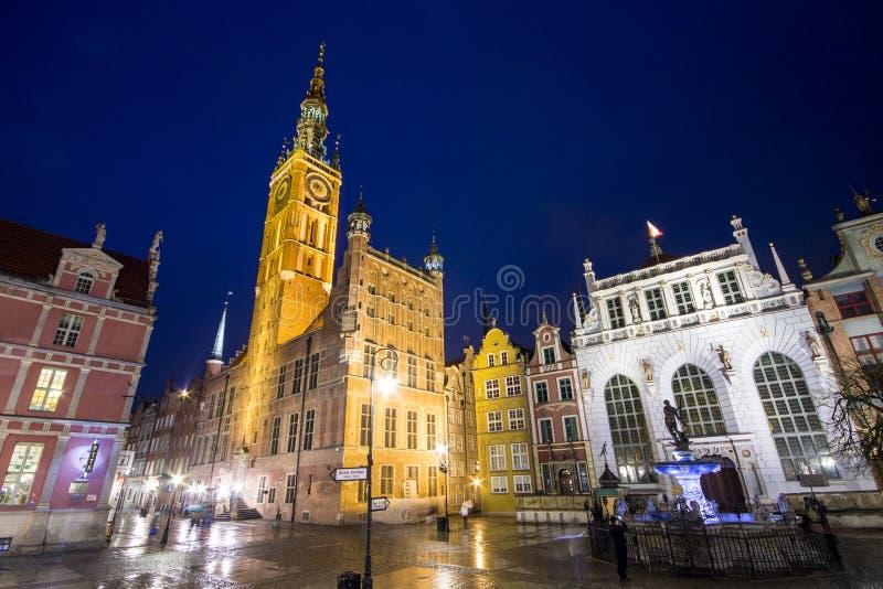 Γντανσκ Πολωνία στοκ εικόνες με δικαίωμα ελεύθερης χρήσης