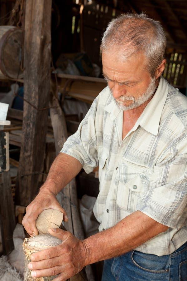 Γνώση ξύλου στοκ φωτογραφίες