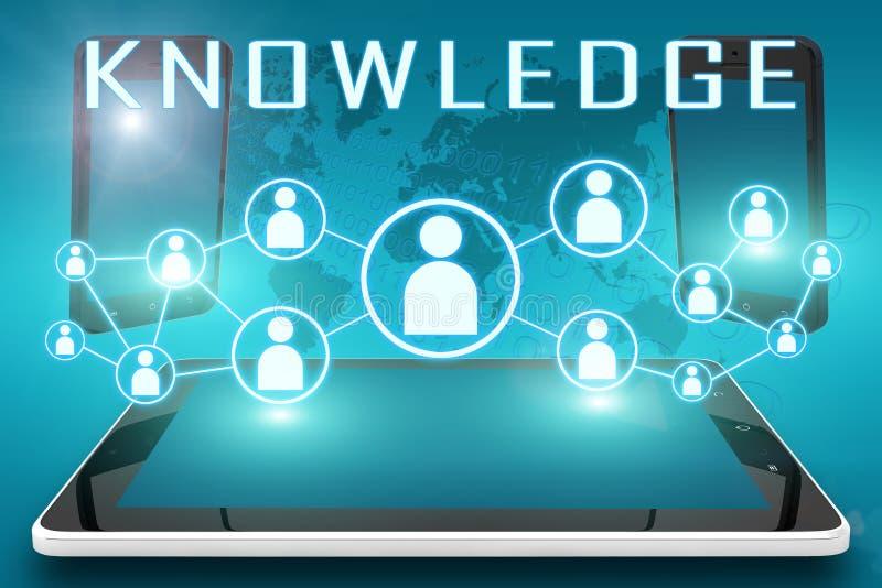 Γνώση διανυσματική απεικόνιση