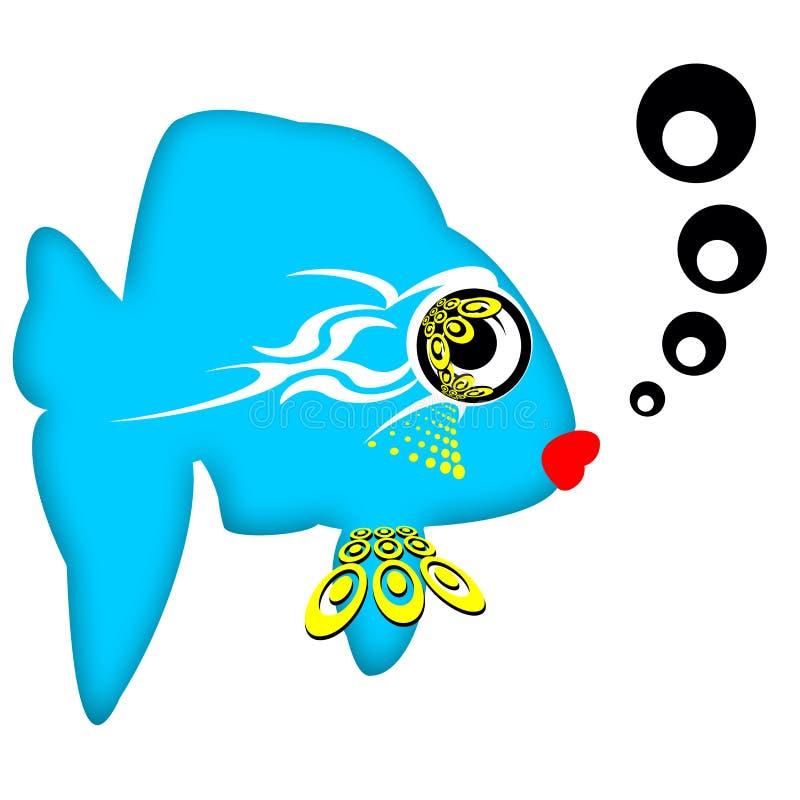 γοητευτικά ψάρια απεικόνιση αποθεμάτων