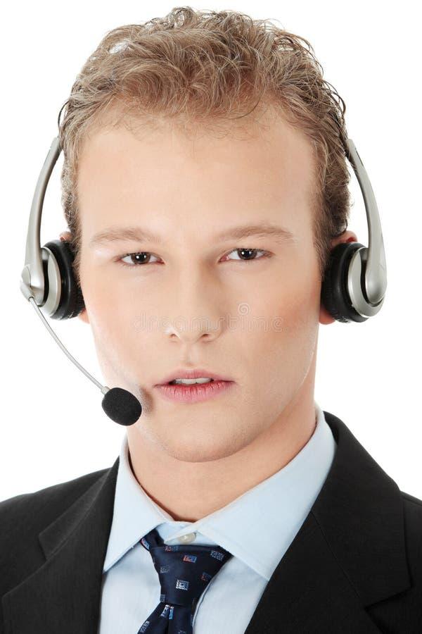 γοητευτική αντιπροσωπευτική εξυπηρέτηση πελατών στοκ εικόνες με δικαίωμα ελεύθερης χρήσης