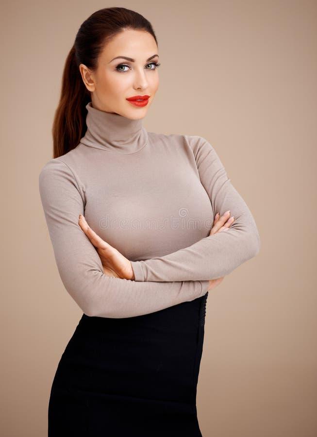 Γοητευτική επαγγελματική γυναίκα στοκ φωτογραφία