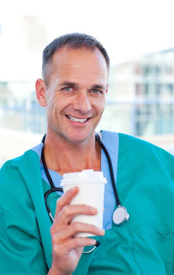 γοητευτικός γιατρός σπα στοκ εικόνες