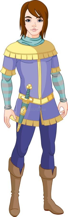 γοητευτικός πρίγκηπας απεικόνιση αποθεμάτων