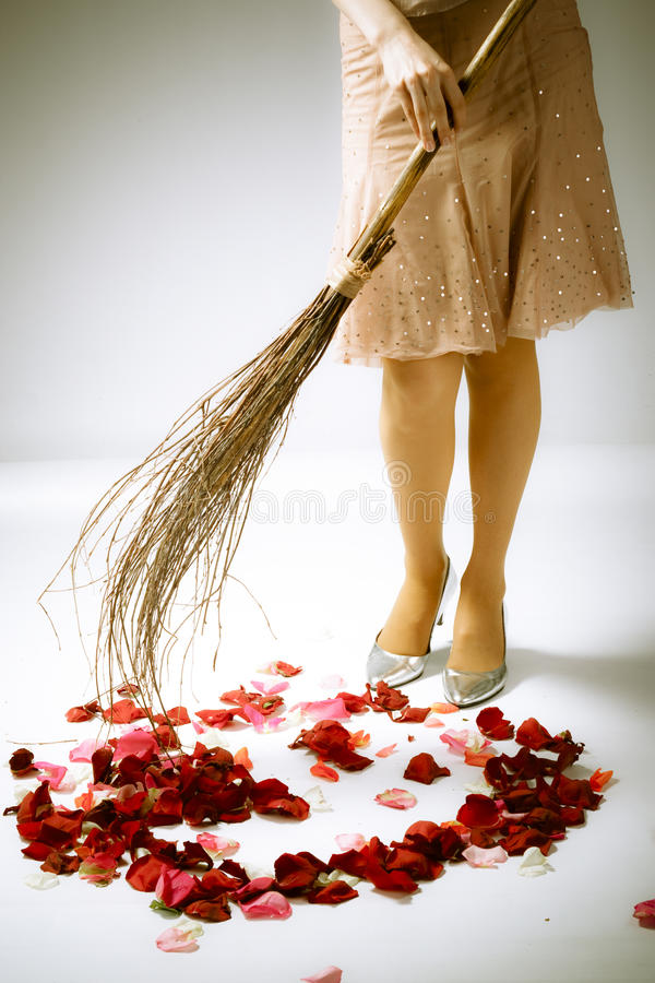 γοητευτικός janitor στοκ φωτογραφίες με δικαίωμα ελεύθερης χρήσης