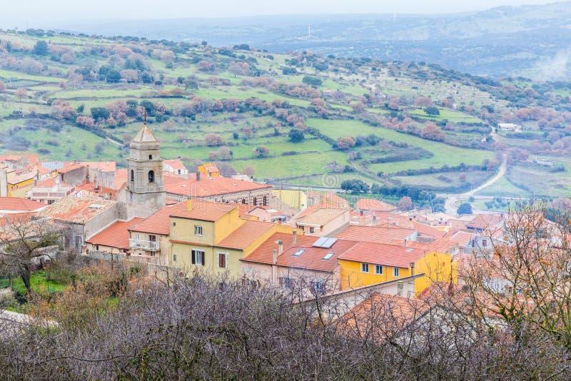 Γοητευτικό χωριό Σαρδηνία, Ιταλία στοκ εικόνες με δικαίωμα ελεύθερης χρήσης