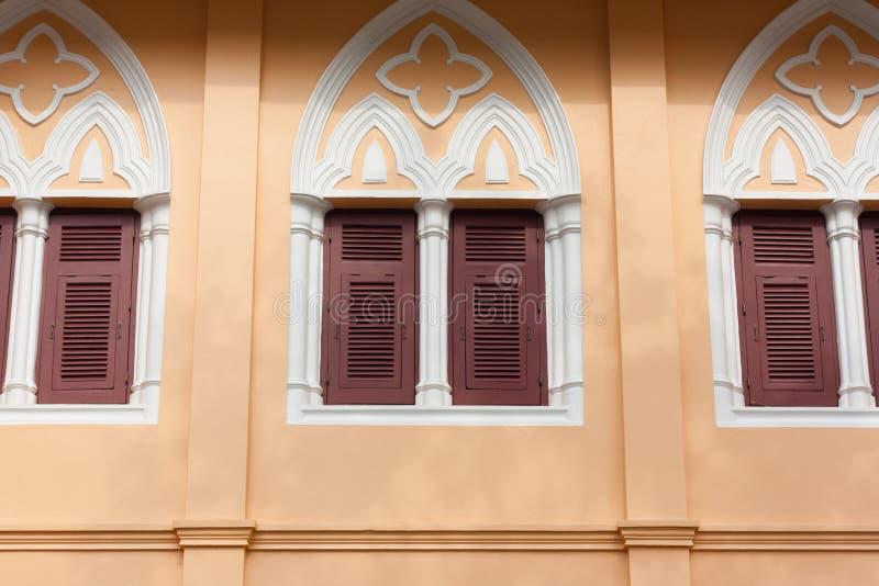 γοτθικά Windows ύφους στοκ φωτογραφία με δικαίωμα ελεύθερης χρήσης