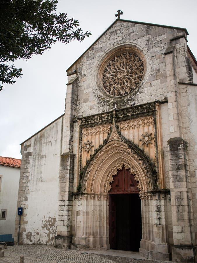 Γοτθική εκκλησία Santarem στοκ εικόνα με δικαίωμα ελεύθερης χρήσης