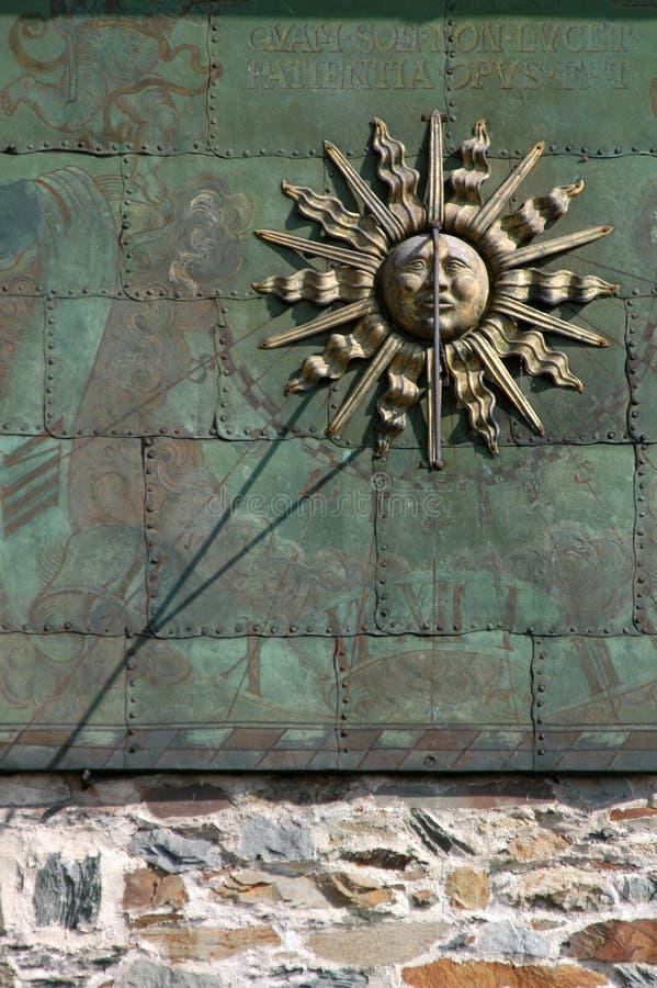 γοτθικός ήλιος πινάκων στοκ εικόνες