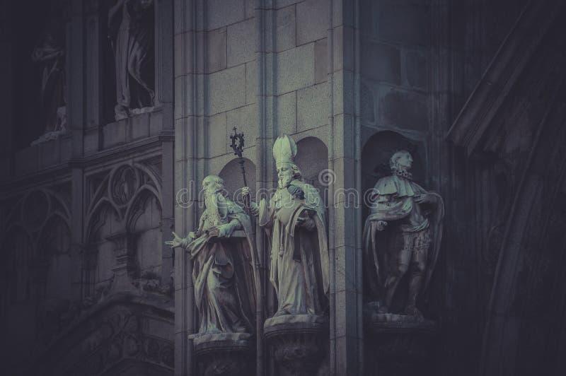 Γοτθικός, καθεδρικός ναός του Τολέδο, μεγαλοπρεπές μνημείο στην Ισπανία στοκ φωτογραφία