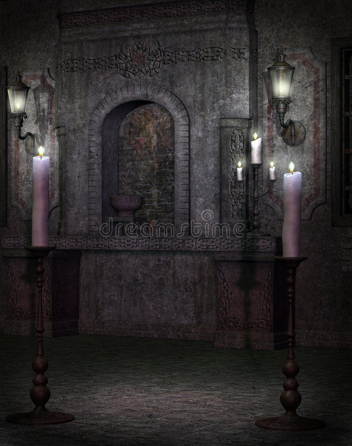 γοτθικός ναός 2 απεικόνιση αποθεμάτων