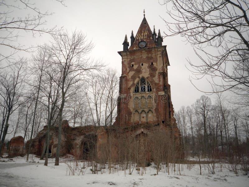 γοτθικός πύργος στοκ φωτογραφία με δικαίωμα ελεύθερης χρήσης