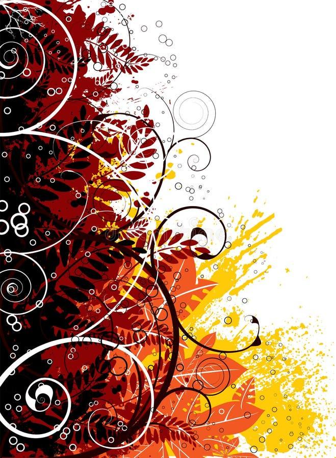 γοτθικό ουράνιο τόξο φθινοπώρου ελεύθερη απεικόνιση δικαιώματος