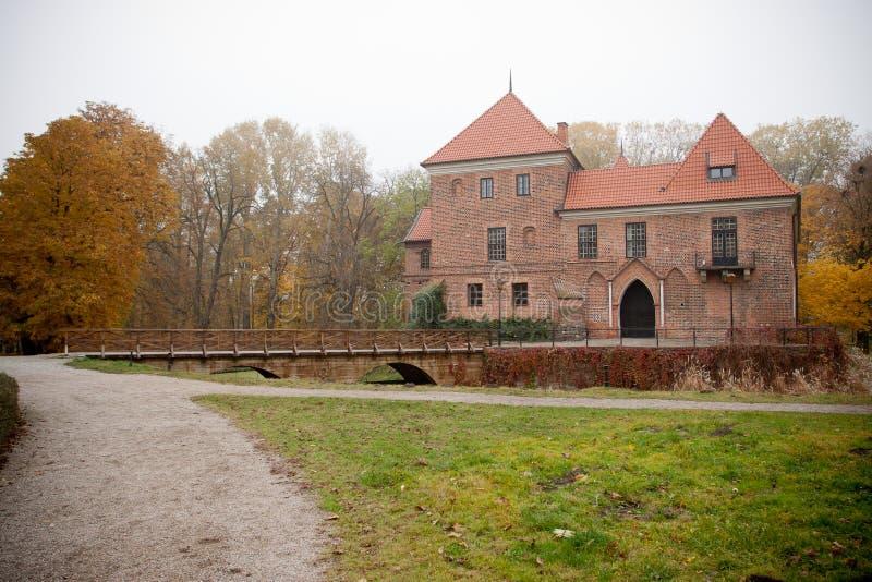 γοτθικό oporow Πολωνία κάστρων στοκ εικόνες